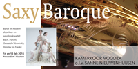 Flyer Saxy Baroque