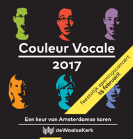 Flyer Couleur Vocale Openingsconcert februari 2017